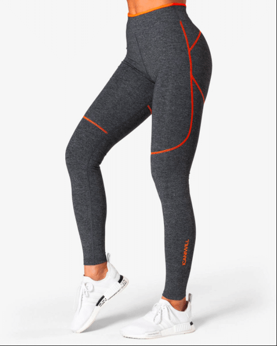 ICANIWILL träningstights grå