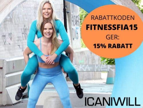 I Can I Will rabattkod 15 % rabatt ICANIWILL ICIW