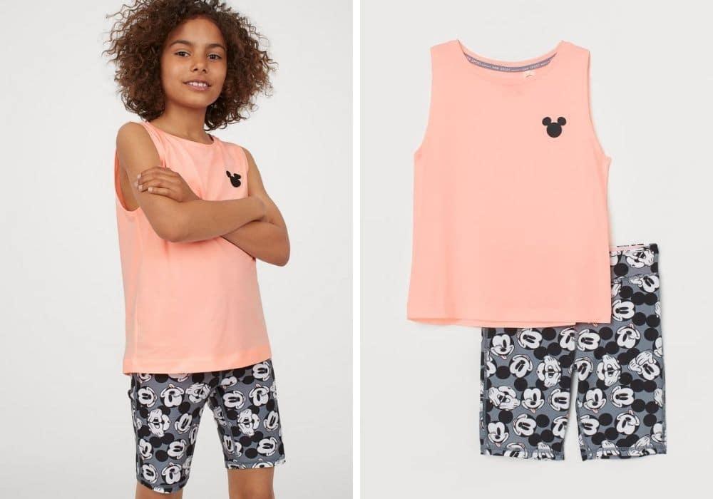 Träningskläder för barn set