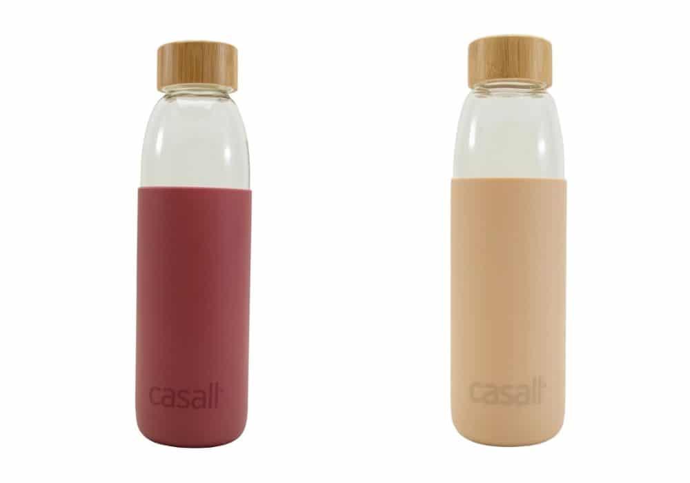 Vattenflaska i glas Casall