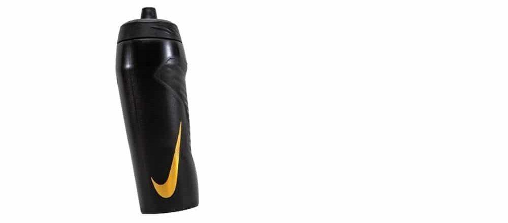 Svart Nike vattenflaska