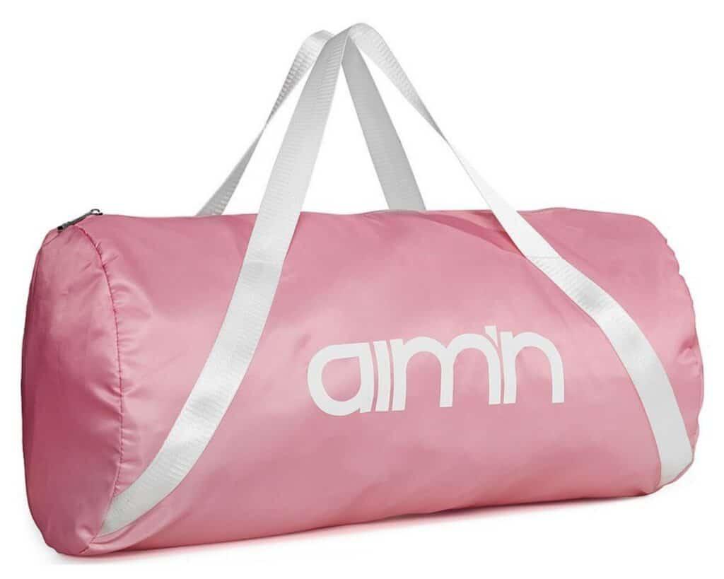 Gymbag rosa gymväska Aimn träningsväska