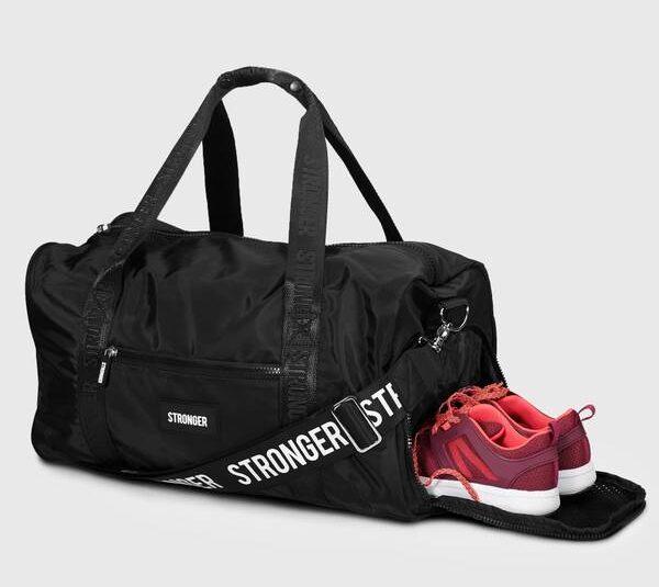 Stronger väska svart gymväska