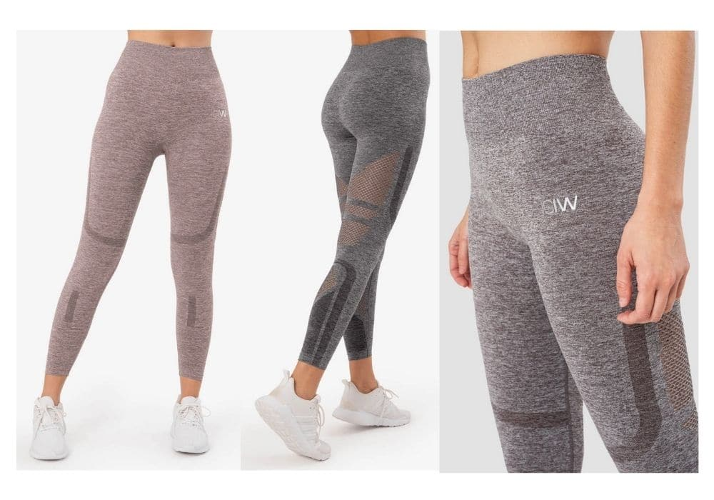 I can I will seamless tights Queen Mesh