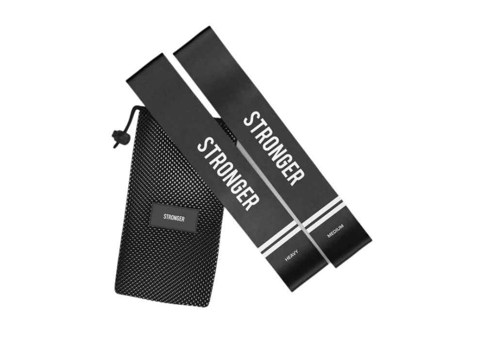 Miniband stronger gummiband svarta