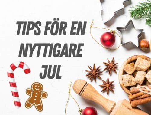 nyttiga recept jul