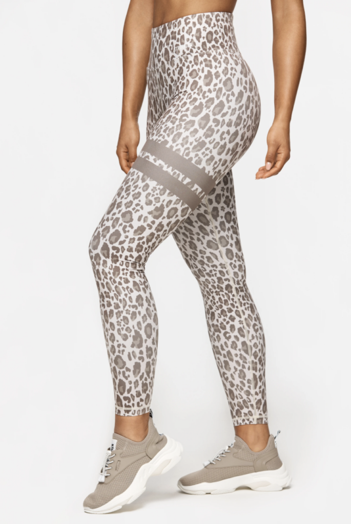 Stronger leopard tights