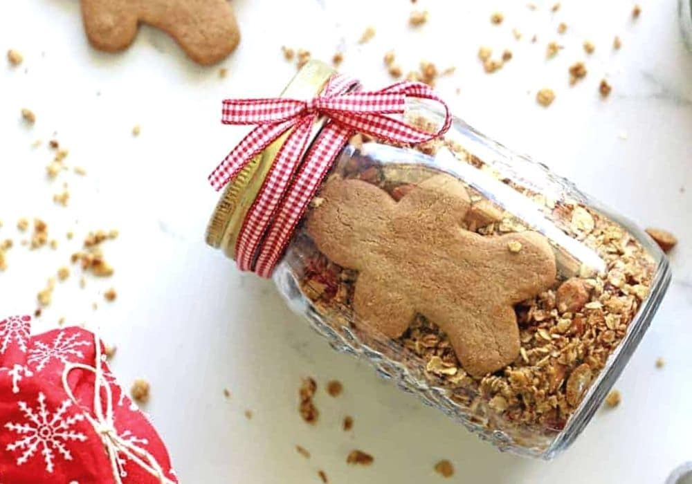 Pepparkaksgranola recept