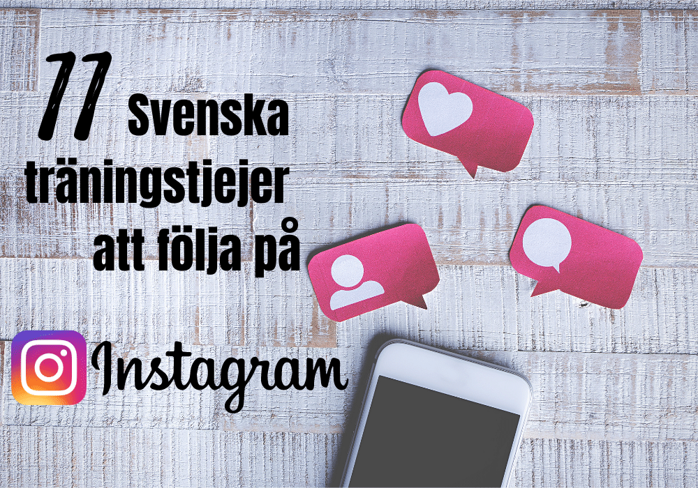 Träningskonton instagram träningsprofiler svenska