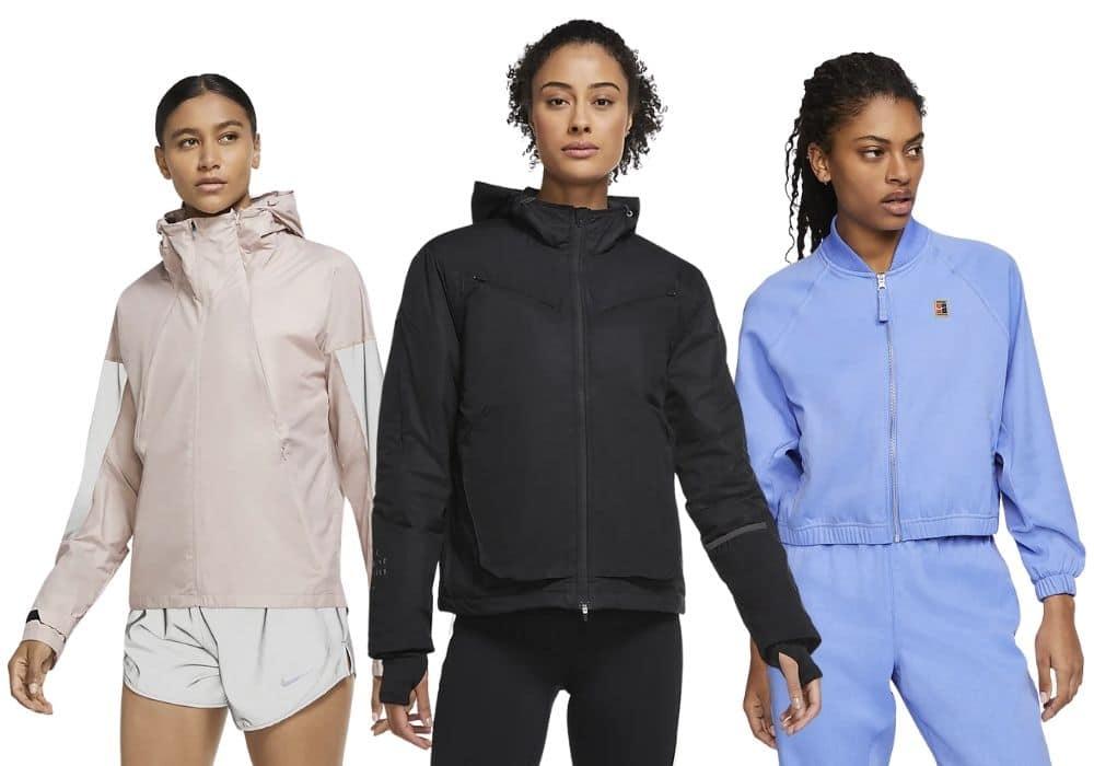 Träningsjacka Nike svart rosa
