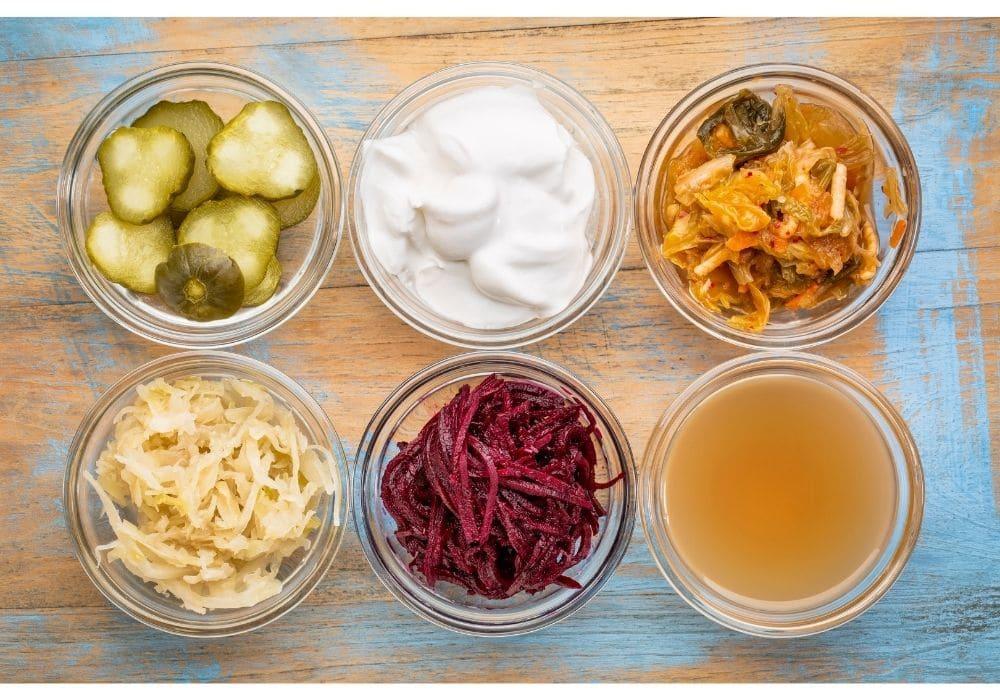 probiotisk mat som innehåller probiotika prebiotika antiinflammatorisk kost
