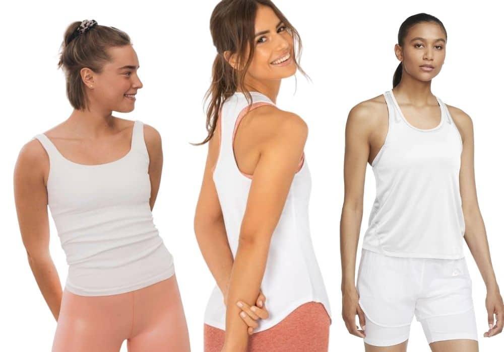 Nike vitt träningslinne Stronger aimn