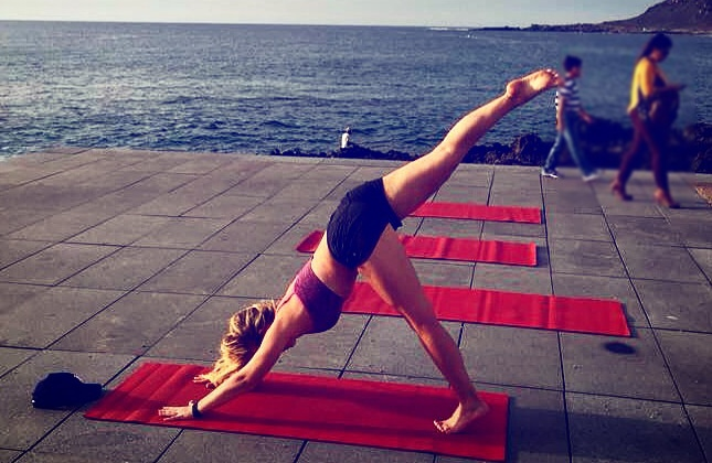 yoga utomhus bästa yogamatta
