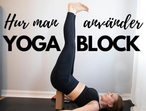 yogablock övningar