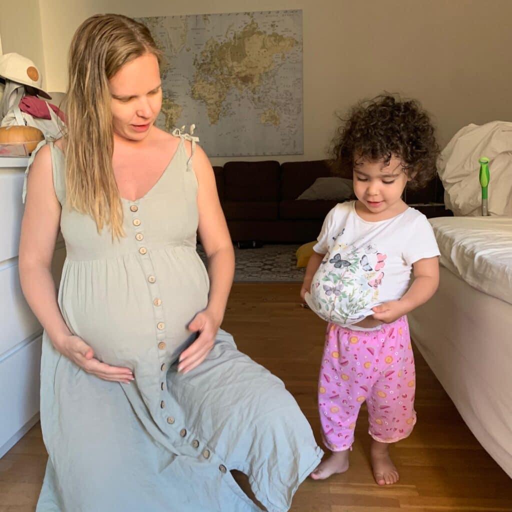 Andra graviditeten viktuppgång