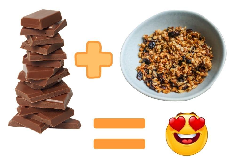 Choklad granola recept tips