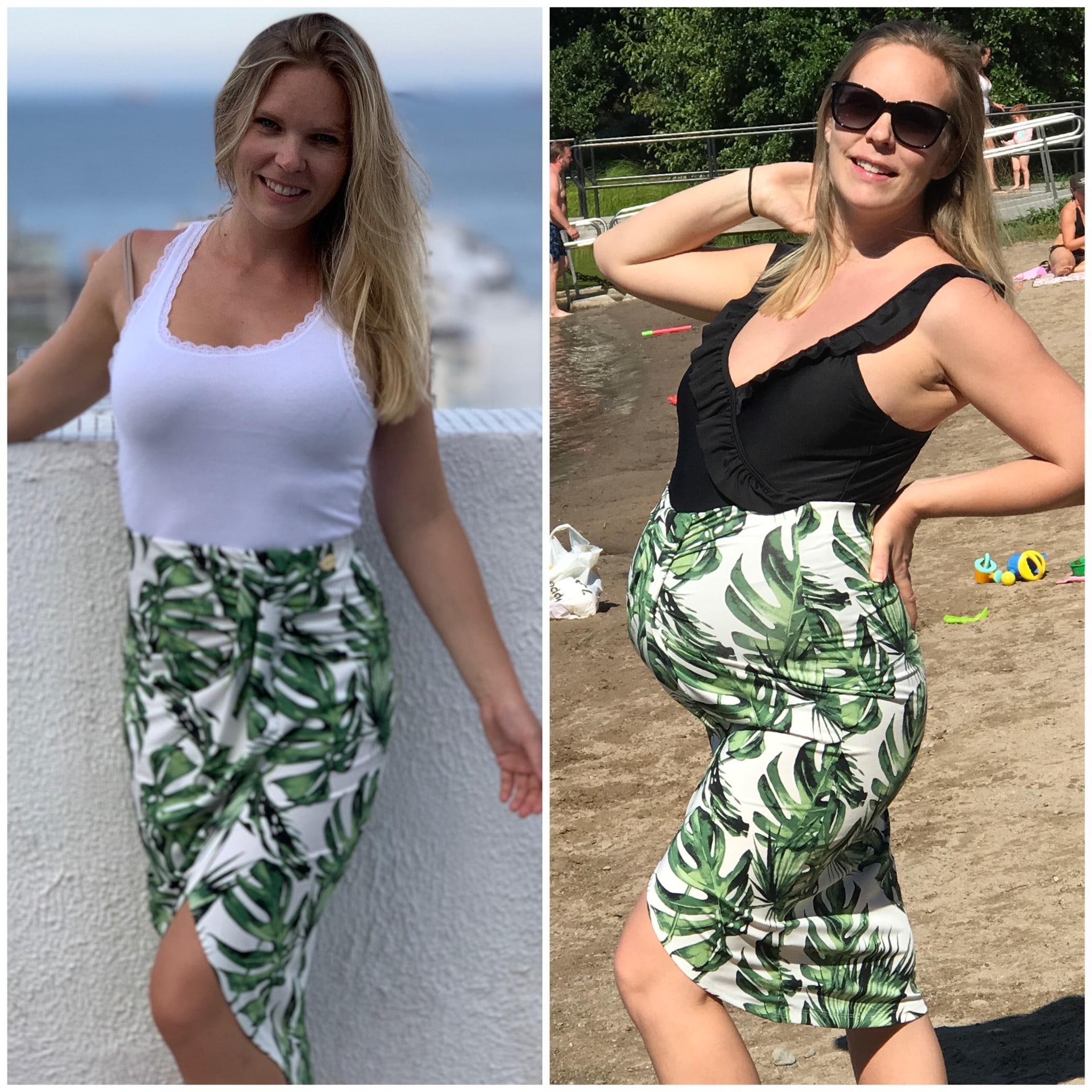 Före och under graviditet kilon
