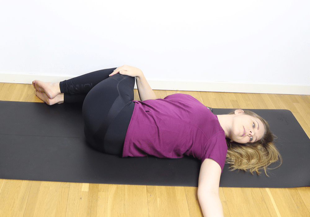 ryggrad stretch ont i ryggen