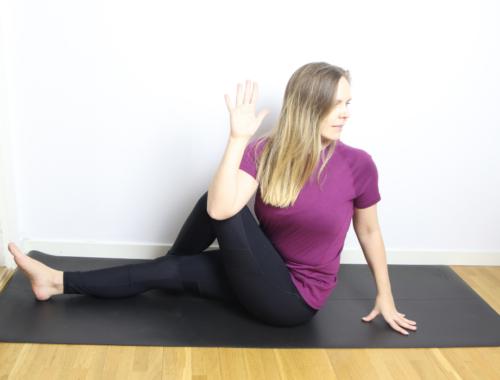 stretchövningar för att stretcha ryggen ländryggen