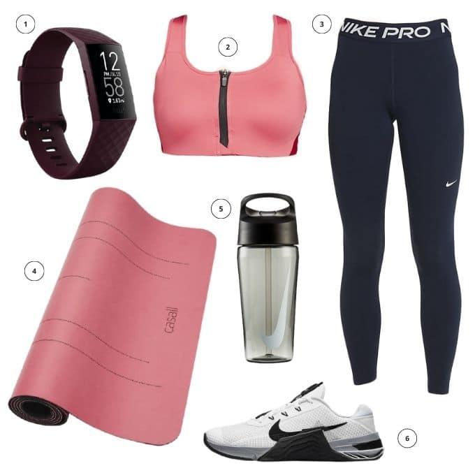 Träningskläder träna hemma hemmaträning outfit