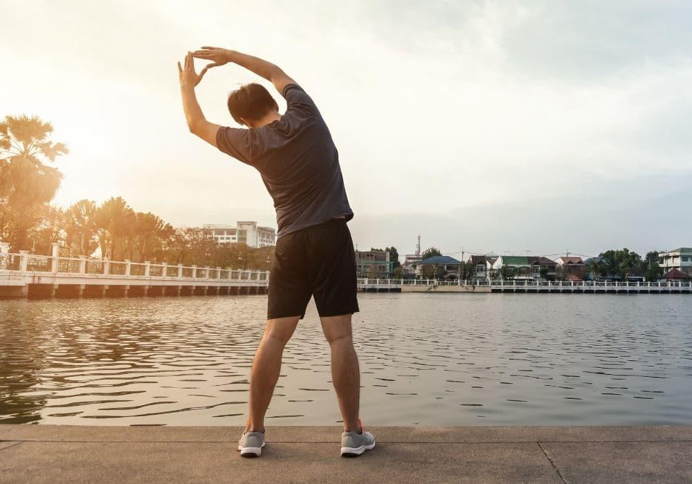 Dynamisk stretching övning