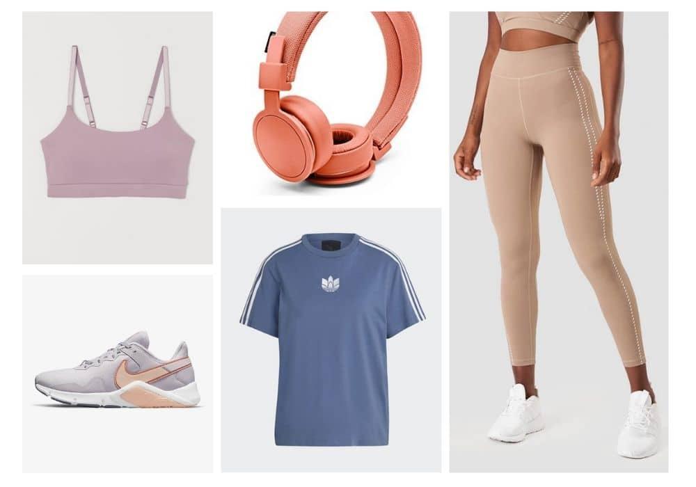 inspo träningskläder färgglad tränings outfit