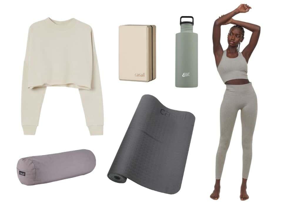 inspo snygg yoga outfit yogakläder inspiration