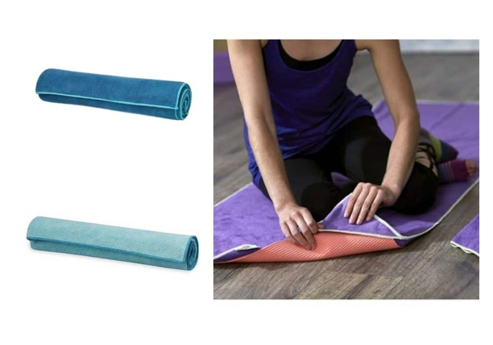Gaiam yoga towel handduk yoga