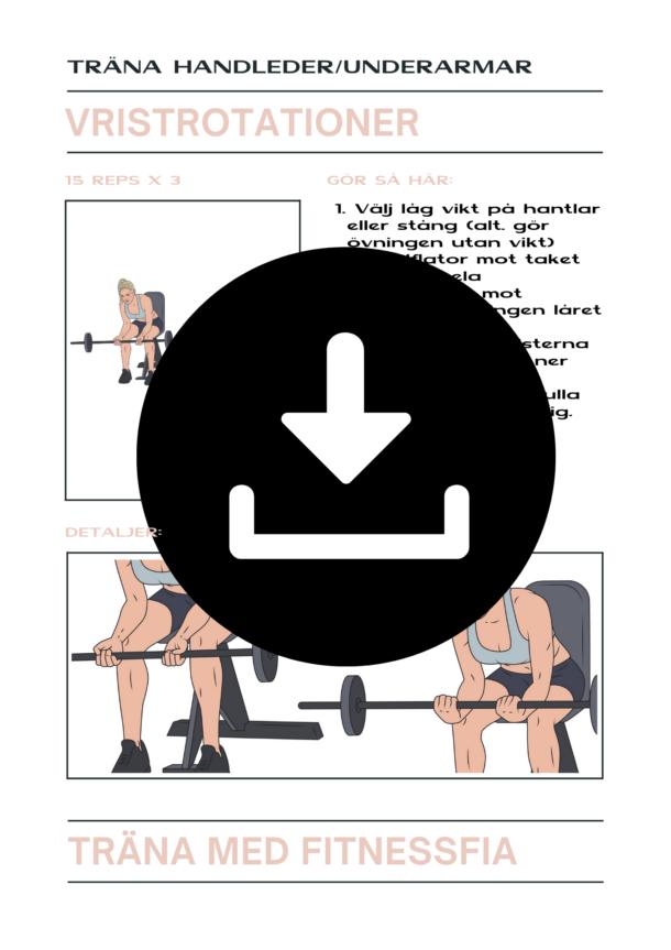 Övning handleder träna underarmar guide