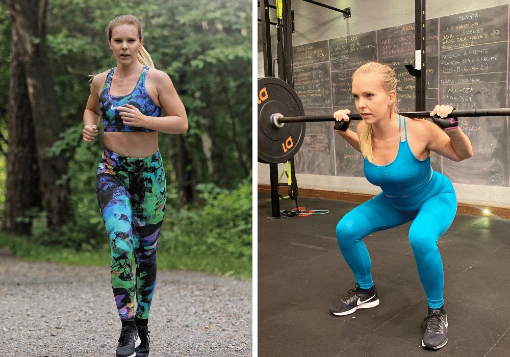 Äta innan styrketräning äta efter löpning