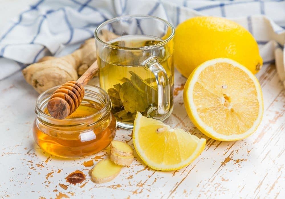 Citronvatten recept ljummet vatten ingefära