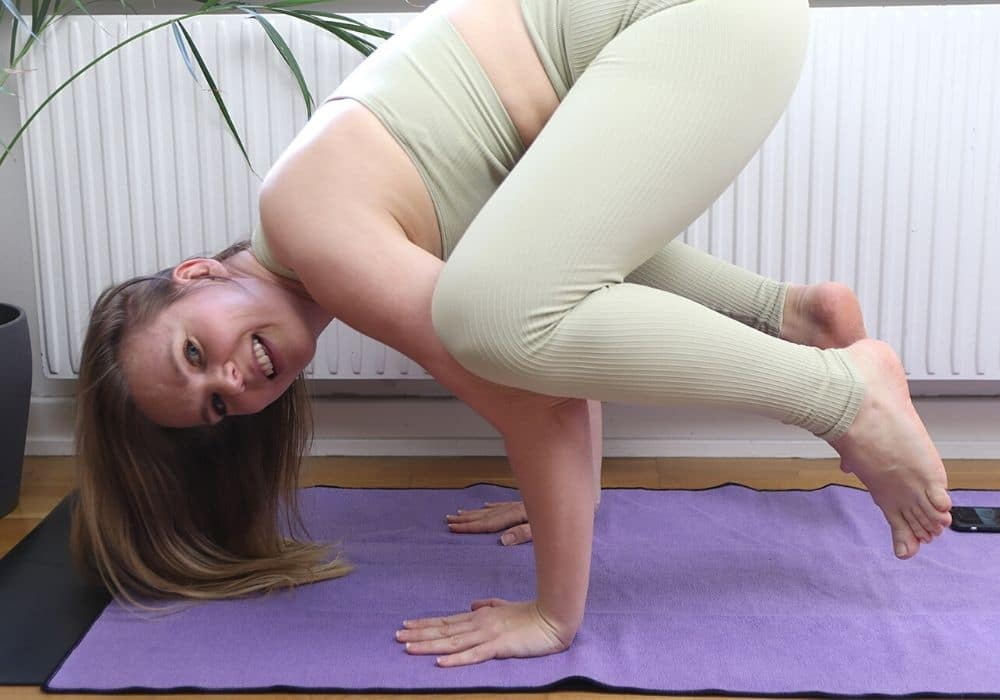 Yogahandduk handduk yoga svett