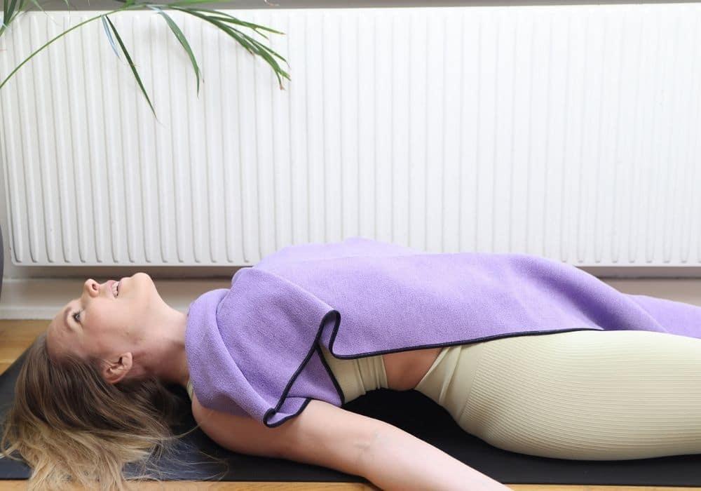 Yoga handduk yoga filt