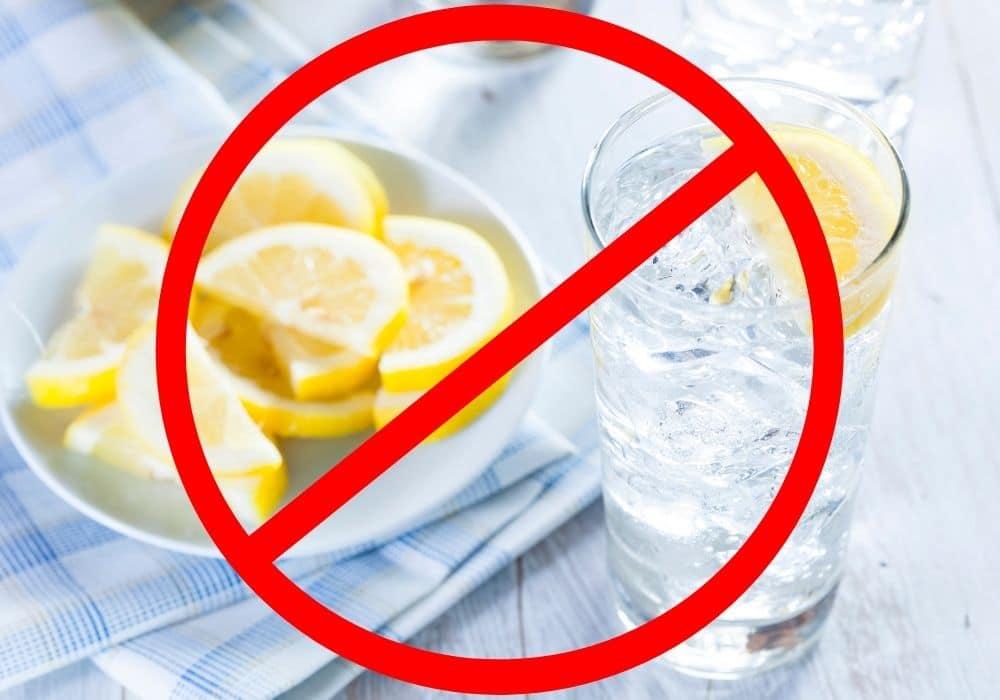 citronvatten ljummet