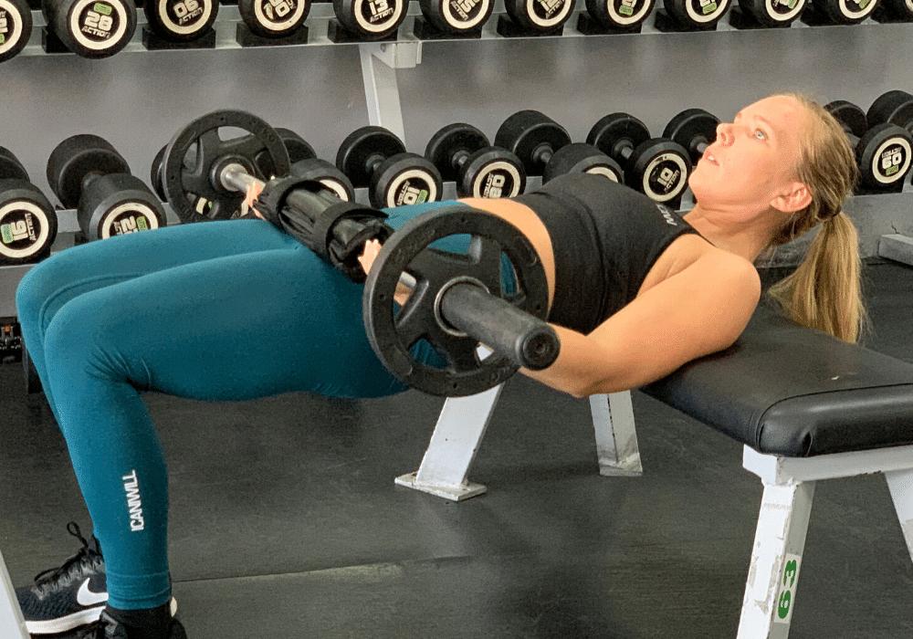 Höftlyft hip thrusts