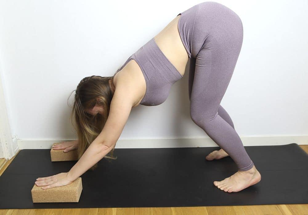 Nedåtgående hund yoga tips