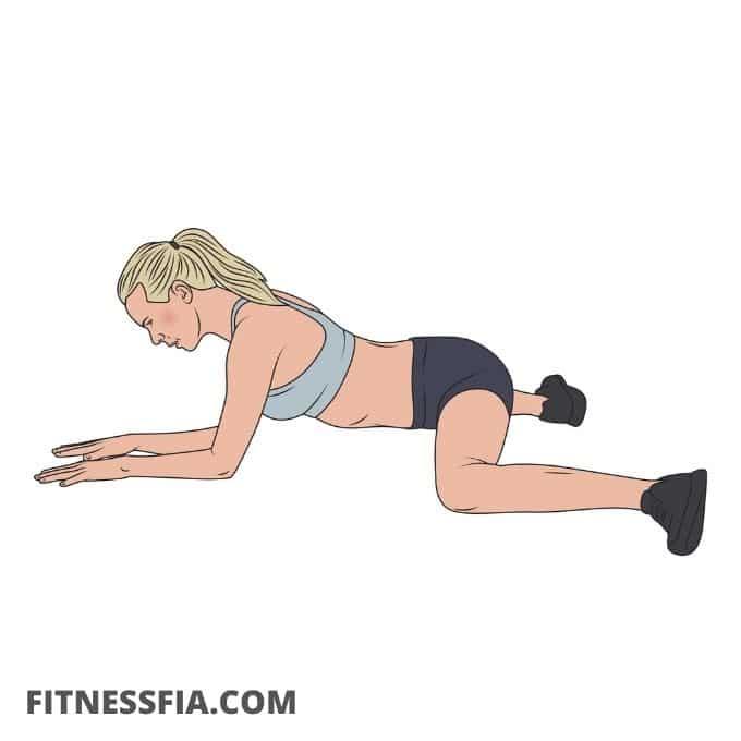 grodan stretchövning ljumskarna och höften