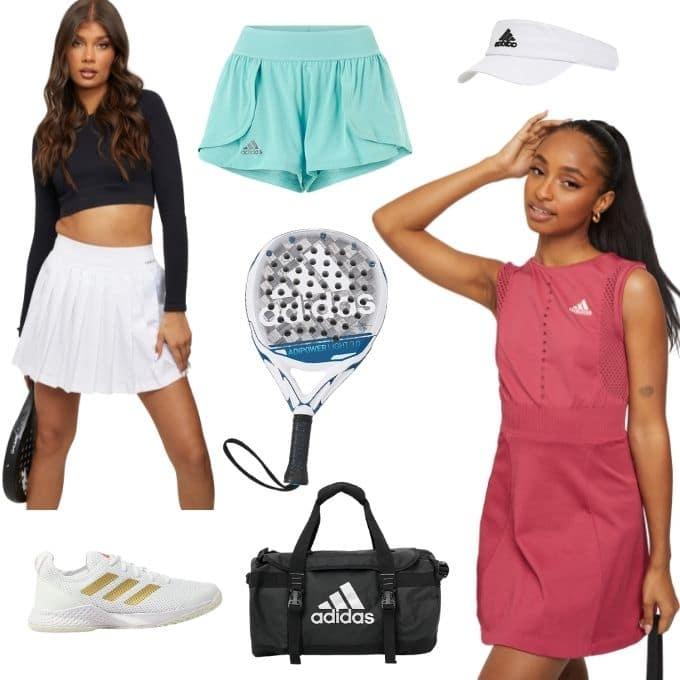 Adidas padel kläder dam