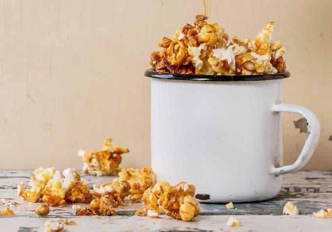 Karamellpopcorn kalorier