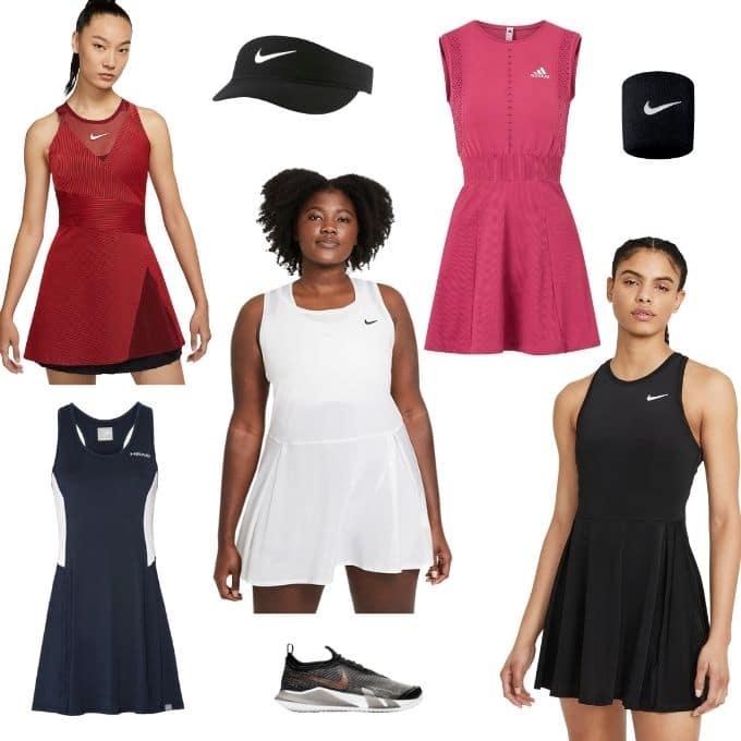 Padel klänning tennis padelklänning tennisklänning