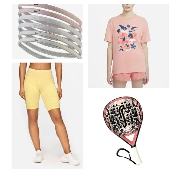 Padel racket outfit Stronger Nike