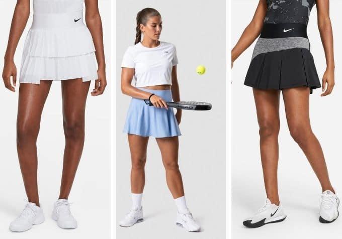 Padelkjol tenniskjol
