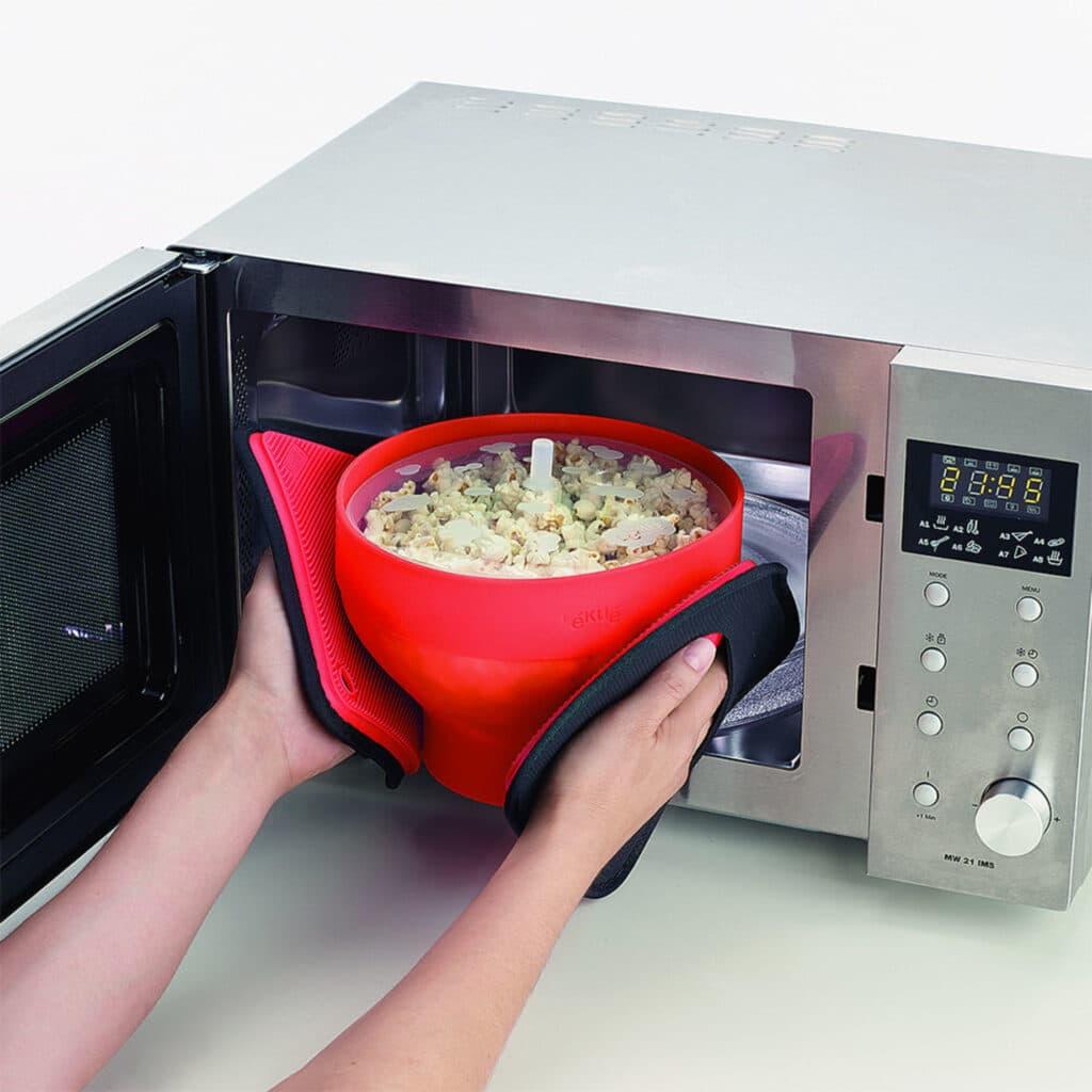 Poppa popcorn i micro skål