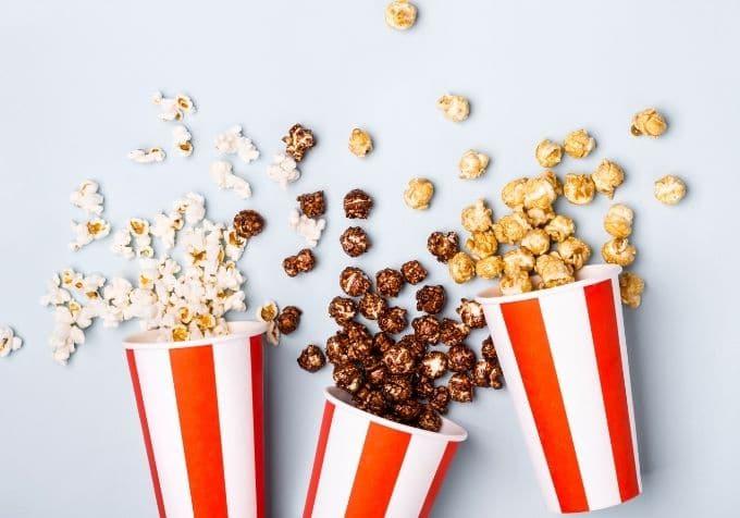 Karamellpopcorn chokladpopcorn smaksatta popcorn kcal