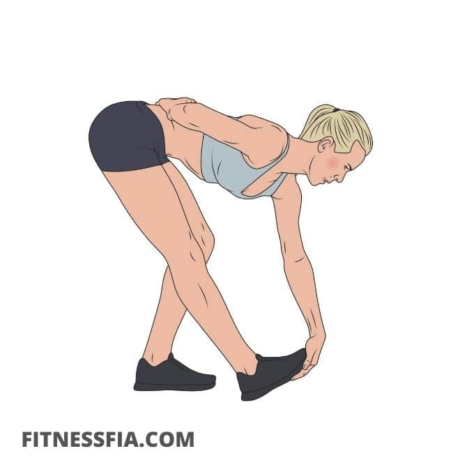 Stretcha hälsenan - Stående vad-stretch