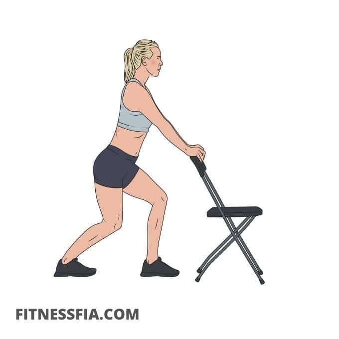 Stretcha inre vadmuskeln
