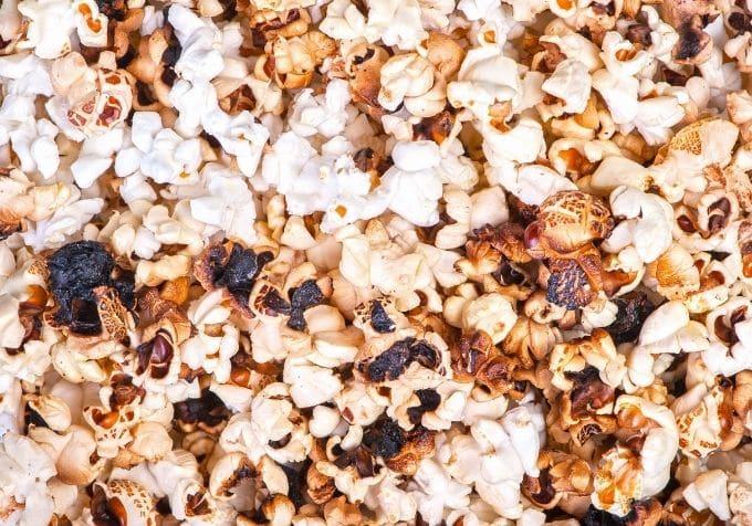 cancer av brända popcorn cancerframkallande