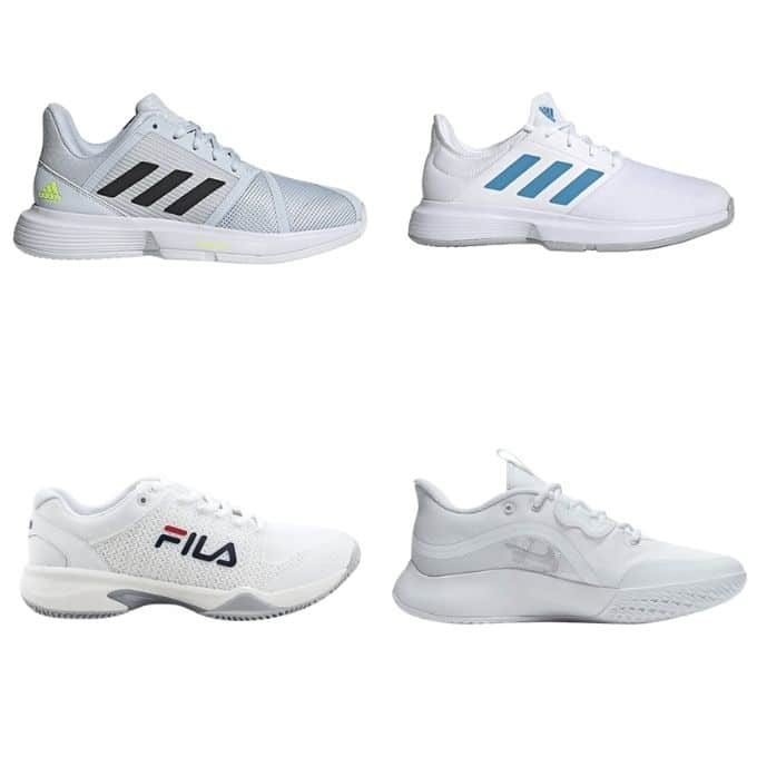 padelskor Adidas Nike tennisskor Fila
