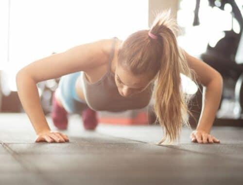 Göra armhävningar varje dag utmaning 30 dagar