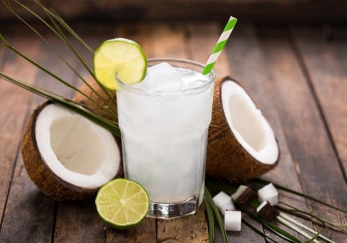 Kokosvatten smoothie